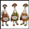 Complete Set of 3 Duck Ornaments - Glam Girls